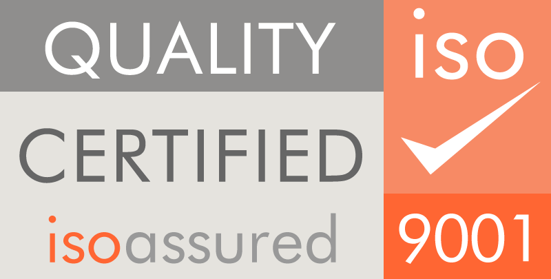 Quality certified isoassured 9001